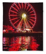 Great Wheel  Fleece Blanket