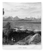 Greece: Levkas, 1832 Fleece Blanket