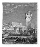 Greece: Rhodes, C1850 Fleece Blanket