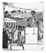 Greek Assembly Fleece Blanket