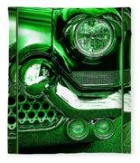 Green Chrome Fleece Blanket