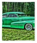 Green Classic Hdr Fleece Blanket