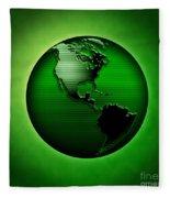 Green Earth Fleece Blanket