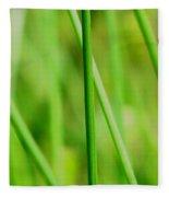 Green Green Grass Of Home Fleece Blanket