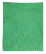 Green Textile Fleece Blanket