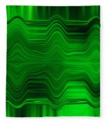 Green Waters Fleece Blanket