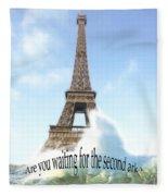 Greenhouse Effect Fleece Blanket