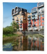 Greenwich Millennium Village Fleece Blanket