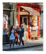 Greenwich Village Bakery Fleece Blanket