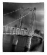 Greig Street Bridge Fleece Blanket