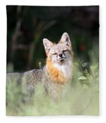 Grey Fox - The Man Fleece Blanket