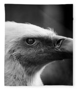 Griffon Vulture Fleece Blanket