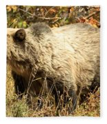 Grizzly Camouflage Fleece Blanket