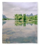 Guangxi In China Fleece Blanket