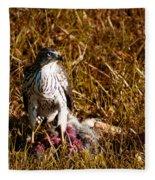 Guarding The Kill Fleece Blanket