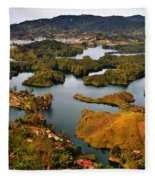 Guatape Fleece Blanket