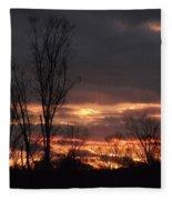 Guilded Sunset Fleece Blanket