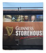 Guinness Storehouse Dublin - Ireland Fleece Blanket