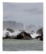 Gulf Of Mexico - More Waves Fleece Blanket