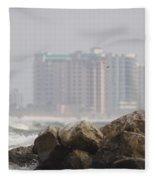 Gulf Of Mexico - Ocean Inward Fleece Blanket