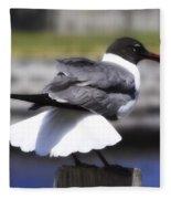 Gull Dance Fleece Blanket