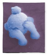 Gunshot Residue Fleece Blanket