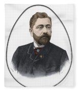 Gustave Eiffel, French Architect Fleece Blanket