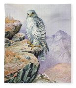 Gyrfalcon Fleece Blanket