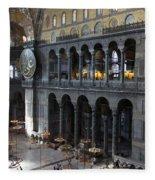 Hagia Sophia Interiour I Fleece Blanket