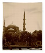 Hagia Sophia Istanbul Fleece Blanket