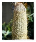 Hairy Cactus Fleece Blanket
