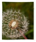 Half A Dandelion Fleece Blanket