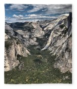 Half Dome Valley Fleece Blanket