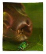 Halicid Bee 2 Fleece Blanket