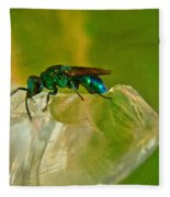 Halicid Bee 22 Fleece Blanket
