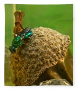 Halicid Wasp 4 Fleece Blanket