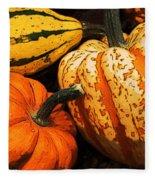 Halloween Colors Fleece Blanket