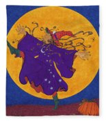 Halloween Dance Fleece Blanket