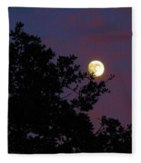 Halloween Moon 2009 Fleece Blanket