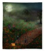 Halloween - One Hallows Eve Fleece Blanket