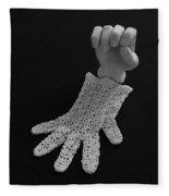 Hand And Glove Fleece Blanket