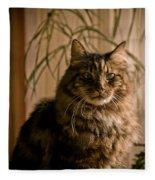 Handsome Harv Fleece Blanket