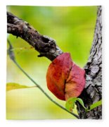 Hanging By A Limb Fleece Blanket