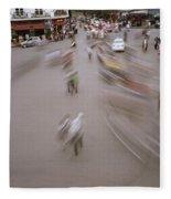 Hanoi Motion Fleece Blanket