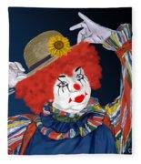 Happy Clown Fleece Blanket