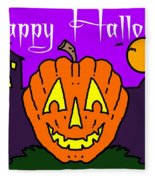 Happy Halloween 2 Fleece Blanket