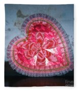 Happy Valentines Day  Fleece Blanket