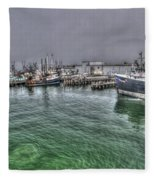 Harbor Dawn Fleece Blanket