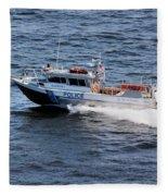 Harbor Police Fleece Blanket