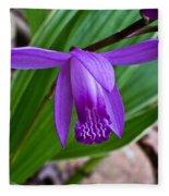 Hardy Orchid 1 Fleece Blanket